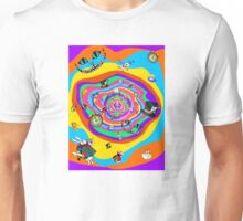 Alice in the rabbit hole Unisex T-Shirt