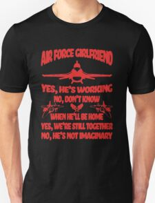 Airforce Girlfriend T-Shirt