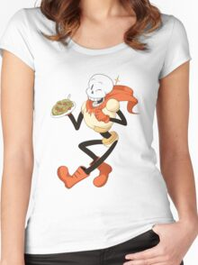 Undertale - Papyrus Women's Fitted Scoop T-Shirt