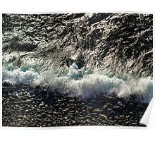Wintry waves Poster