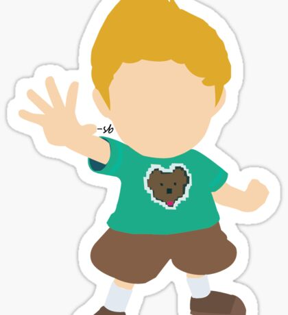 Green Shirt Lucas Sticker