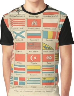 vintage flags Graphic T-Shirt