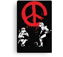 Banksy Storm Troopers  Canvas Print