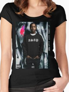 ASAP ROCKY - A.L.L.A Women's Fitted Scoop T-Shirt