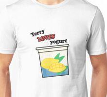 Terry loves yogurt Unisex T-Shirt