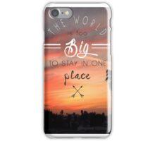 TRAVEL iPhone Case/Skin