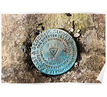 Angel's Rest, U.S. Coast Guard and Geodetic Survey Marker Poster