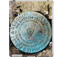 Angel's Rest, U.S. Coast Guard and Geodetic Survey Marker iPad Case/Skin