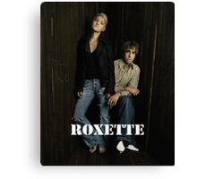 Roxette 2016 by dewiq Canvas Print