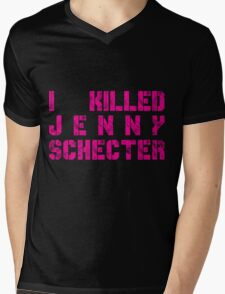 I killed Jenny Schecter - The L Word Mens V-Neck T-Shirt