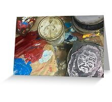 Cuba - Cienfuegos - gallery - Che art Greeting Card