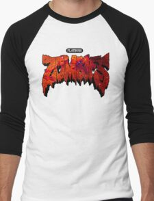 Flatbush Zombies Red Galaxy Men's Baseball ¾ T-Shirt