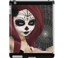 Black Widow Sugar Doll iPad Case/Skin