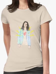 Electric Love Womens Fitted T-Shirt