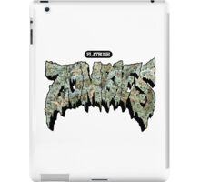 Flatbush Zombies Weed iPad Case/Skin