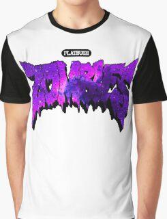 Flatbush Zombies Purple Galaxy Graphic T-Shirt