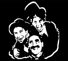 The Marx Brothers Attire  by tstewart3