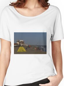 Fishing on Aldeburgh Beach Women's Relaxed Fit T-Shirt