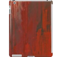 Red Paint iPad Case/Skin