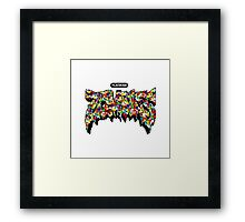 Flatbush Zombies Gumball Framed Print