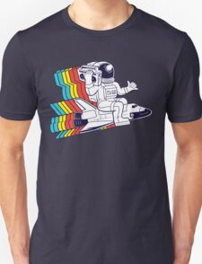 funky astronaut Unisex T-Shirt