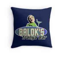 Star Trek - Balok's Tranya Bar Throw Pillow
