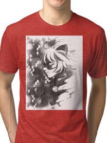 ML- Chat Noir  Tri-blend T-Shirt