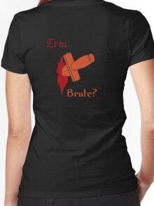 Shakespeare - Julius Caesar - et tu, Brute? Women's Fitted V-Neck T-Shirt