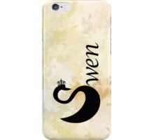 Swen - Swan Queen iPhone Case/Skin