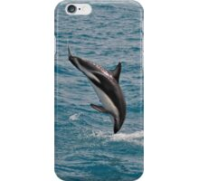 Leaping Lagenorhynchus (Dusky Dolphins) iPhone Case/Skin