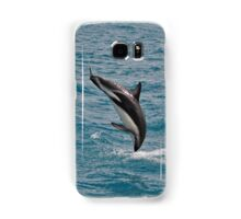 Leaping Lagenorhynchus (Dusky Dolphins) Samsung Galaxy Case/Skin