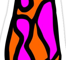 lava lamp Sticker