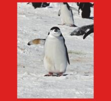 """Chinstrap Penguin  ~  """"Traffic Cop on Point Duty"""" One Piece - Long Sleeve"""