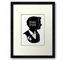 """""""I solemly swear that i am up to NO GOOD"""" Framed Print"""
