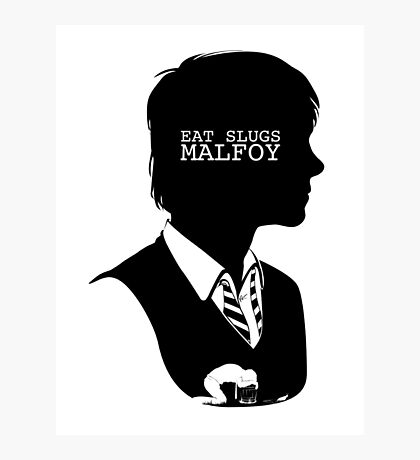 """Eat slugs Malfoy!"" Photographic Print"