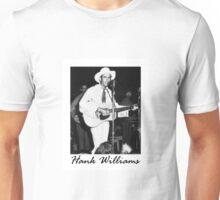 Hank Williams Sr. In Concert Unisex T-Shirt
