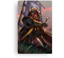 Samurai Vader Canvas Print