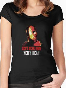 Zed is Dead - for dark shirts Women's Fitted Scoop T-Shirt