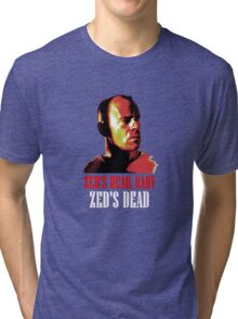 Zed is Dead - for dark shirts Tri-blend T-Shirt