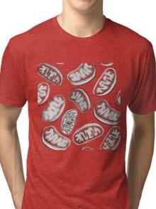 Mitochondria repeating pattern Tri-blend T-Shirt