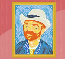 Self- portrait Van Gogh by alapapaju