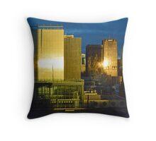 Melbourne Sunrise Throw Pillow