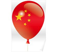 Chinese flag Poster
