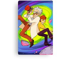 WE'RE GONNA HAVE A WACKY SPACE ADVENTURE MORTY Canvas Print