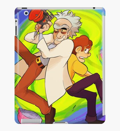 WE'RE GONNA HAVE A WACKY SPACE ADVENTURE MORTY iPad Case/Skin