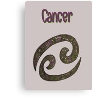 Zodiac-Cancer Canvas Print