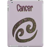 Zodiac-Cancer iPad Case/Skin