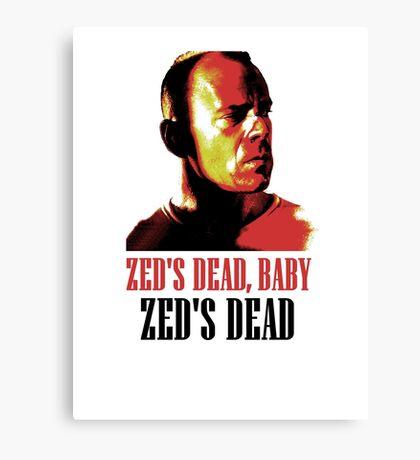 Zed Is Dead Canvas Print