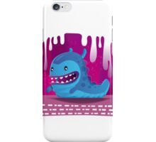 The Happy Monster Slug iPhone Case/Skin