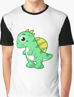Cute illustration of a Spinosaurus. Graphic T-Shirt